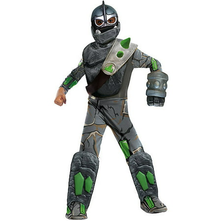 Deluxe Skylanders Giants Crusher Child Halloween Costume - Lego Man Halloween Costume For Sale