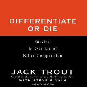 Differentiate or Die - Audiobook