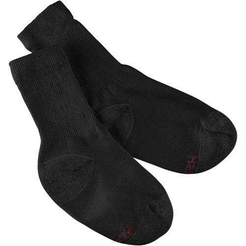 Hanes Boys' Crew Socks, 10 Pack