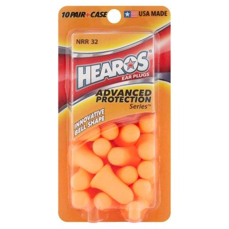 (2 Pack) DAP World Hearos Advanced Protection Series Ear Plugs, 10 ea