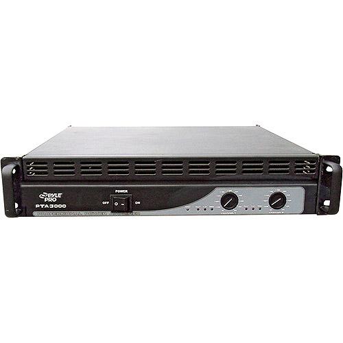 Pyle 3000-Watt Rack Mount Professional Power Amplifier