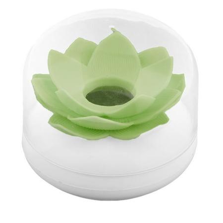 Restaurant Lotus Flower Design Cotton Bud Toothpick Storage Box