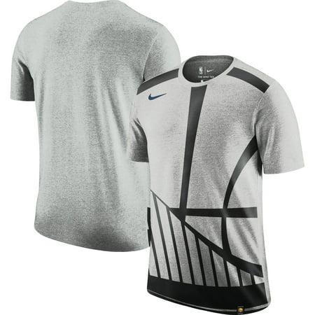 online store fa300 8be2c Golden State Warriors Nike Oversize Logo Performance Tri-Blend T-Shirt -  Gray