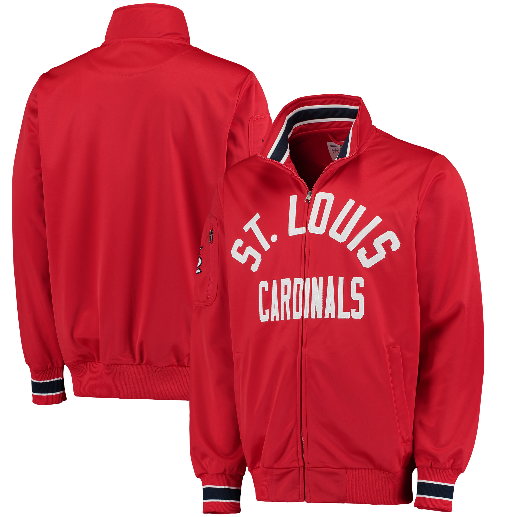 St. Louis Cardinals G-III Sports by Carl Banks Contender Full-Zip Jacket - Red