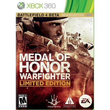 Medal of Honor: Warfighter Limited Edition Xbox (Medal Of Honor European Assault Xbox 360)