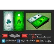 St. Patrick Day Themed Cornhole Boards