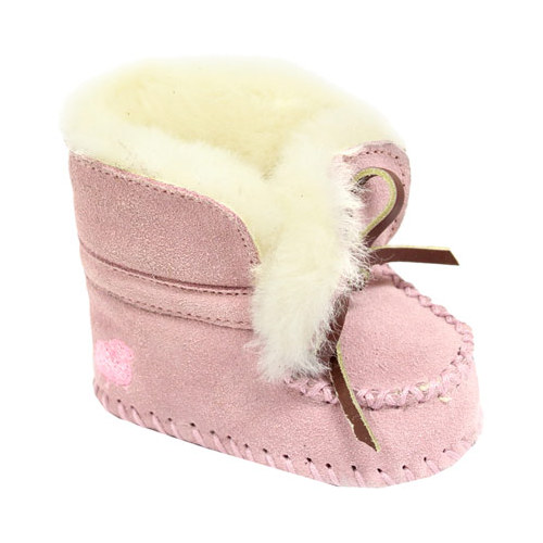 Infant Girls' Lamo Baby Moc Slipper by Dije California