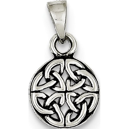 925 Sterling Silver Antiqued (9x12mm) Pendant / Charm - image 2 of 2