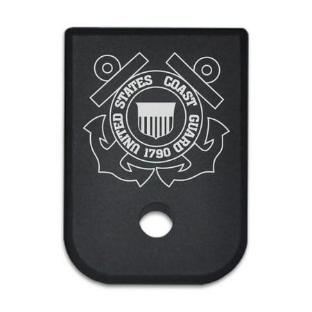 Magazine Base Plate For Glock 9Mm   Us Coast Guard