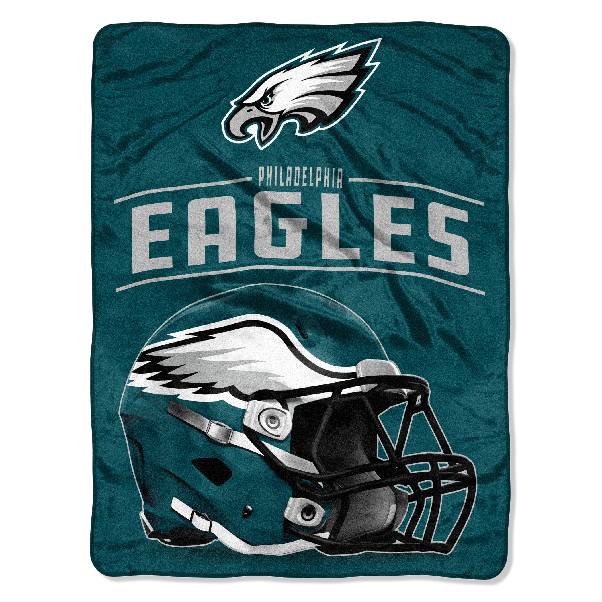 "NFL Philadelphia Eagles Franchise Micro Raschel 46"" x 60"" Throw, 1 Each"