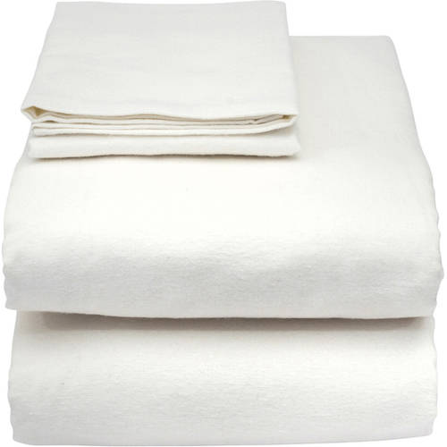 3 white hospital health care jersey knit fitted sheet