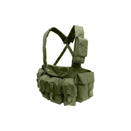 Condor Outdoor 7 Pocket Chest Rig Color- Od Green