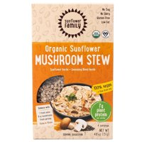 The Sunflower Family Organic Sunflower Hache Plus Seasoning Blend Mushroom Stew 4.6 Oz, 4 Servings 235420 OC