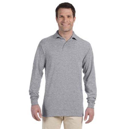 7ca85719d JERZEES - Jerzees SpotShield™ 50/50 Long Sleeve Sport Shirt - Walmart.com