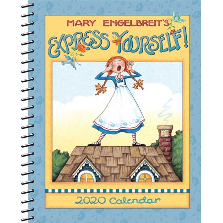Mary Engelbreit 2020 Monthly/Weekly Planner Calendar : Express Yourself