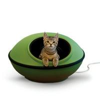 "K&H Pet Products Thermo-Mod Dream Pod, Green/Black, 22"", 4 Watts"