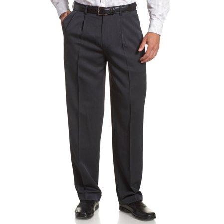 Mens 33X30 Classic Fit Dress - Pleat Stretch 33
