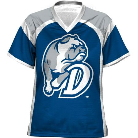 Girly Football Jerseys (ProSphere Girls' Drake University Red Zone Football Fan)