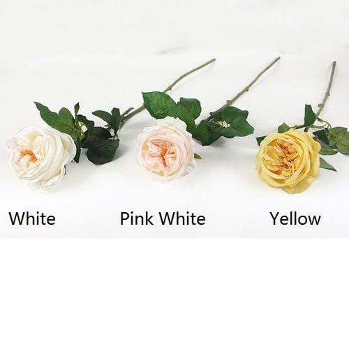 Charlton Home Silk Single Rose Bloom Stem