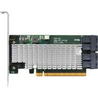 HighPoint SSD7120 NVMe RAID Controller PCI Express 3.0 x16 Plug-in Card