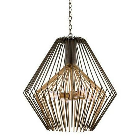 Pendants 4 Light With Bronze Gold Tone Finish Medium Base Bulb 26 inch 240 Watts