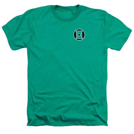 Green Lantern Dc Comics Kyle Rayner Logo Adult Heather T Shirt Tee