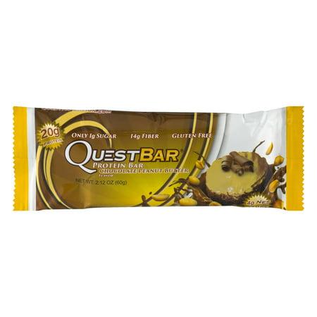 QuestBar Protein Bar Chocolate Peanut Butter, 2.12 OZ