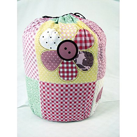 SoHo Slumber Bag for Kids, Cottony Flowers, With Pillow and Sleeping Bag Cover, 50 Degrees