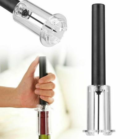 Wine Opener, Air Pressure Pump Wine Bottle Opener Cork Remover Pop Corkscrew Without Tool