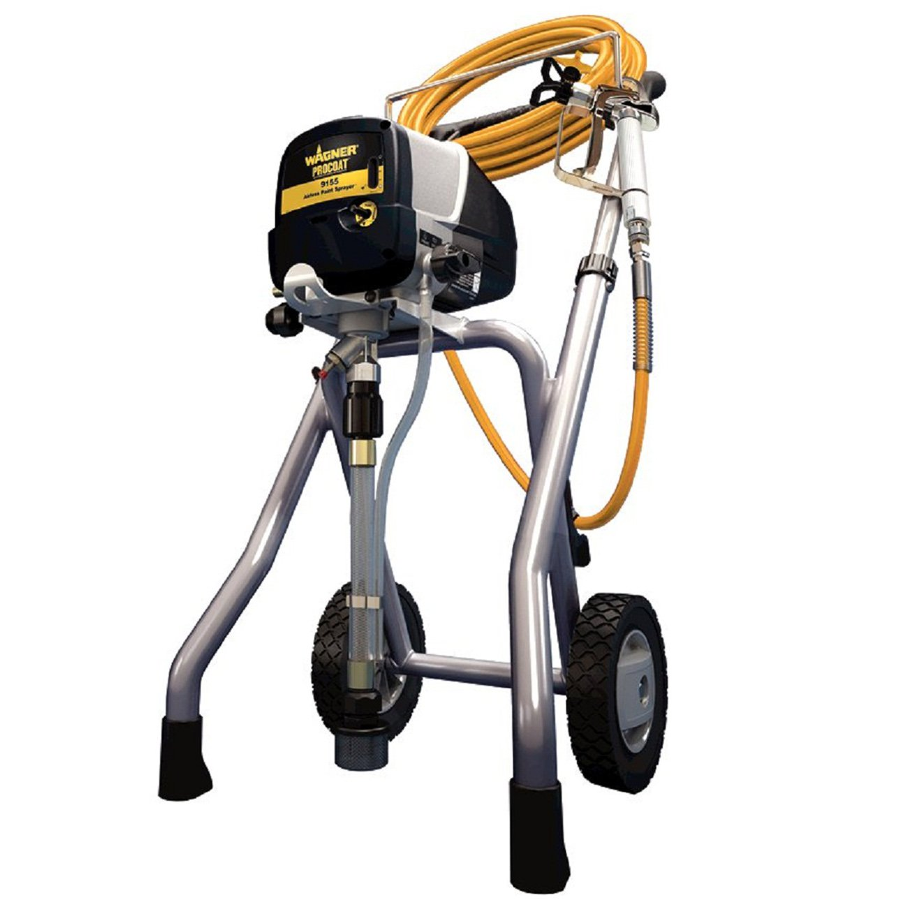 Wagner ProCoat 9155 Airless Piston Pump 5/8 HP 15 Amp 3000 PSI Paint Sprayer