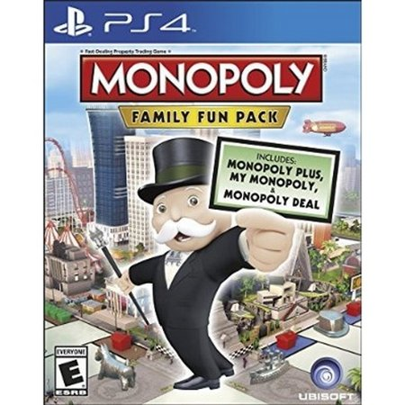 Monopoly Family Fun Pack   Playstation 4 Standard Edition