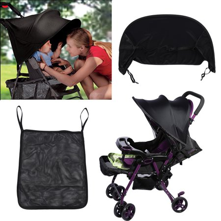 Fosa 2 Colors Baby Stroller Sunshade Buggy Infant Car Seat Canopy Flexible Lycra Sun Blocking Cover Pram Shade