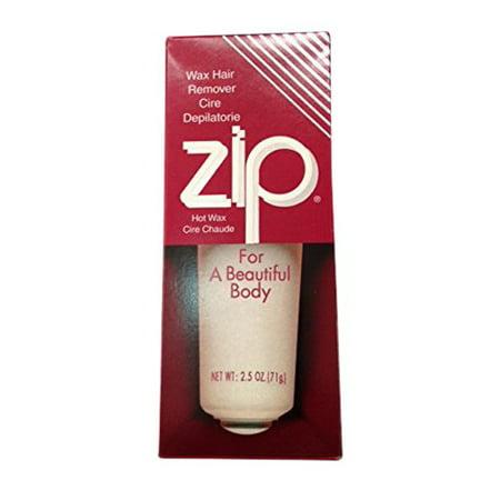 Zip hair removal wax