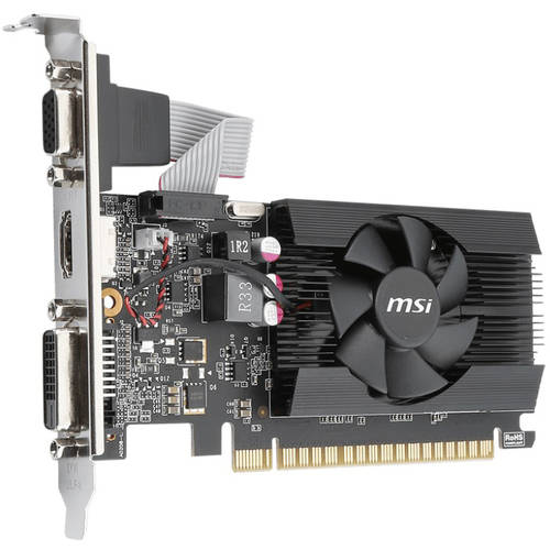 NVIDIA GeForce GT 710 1GB Graphics Card and 350W Power Supply