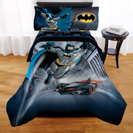 Batman Guardian Speed Kid S Bedding Bed In A Bag Walmart Com