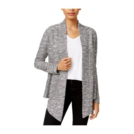bar III Womens Boucle Cardigan Sweater hgrey M - image 1 de 1