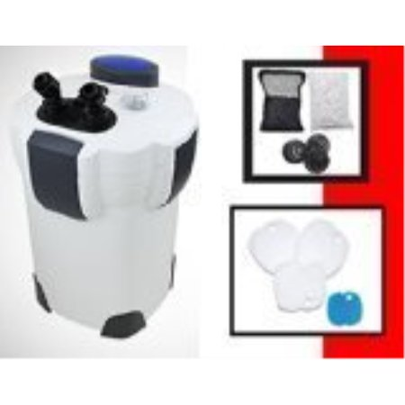 Sunsun Hw304B 525GPH Pro Canister Filter Kit with 9-watt UV