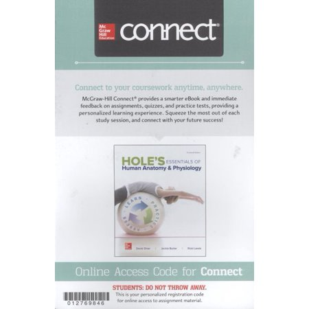 Connect Access Card for Hole\'s Essentials of Anatomy & Physiology ...