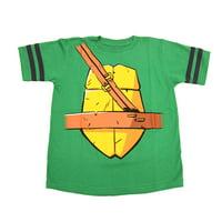 Teenage Mutant Ninja Turtles Boys Striped Sleeves Costume T-Shirt