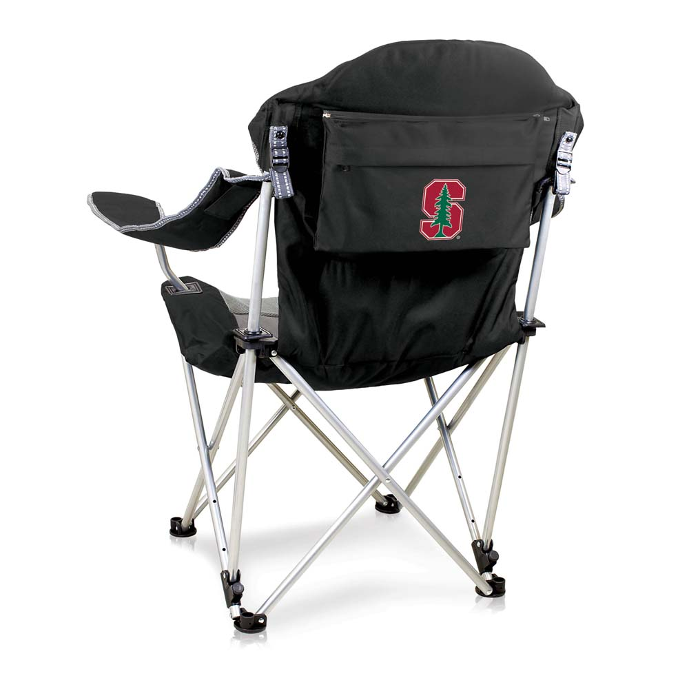 Stanford Reclining Camp Chair (Black)