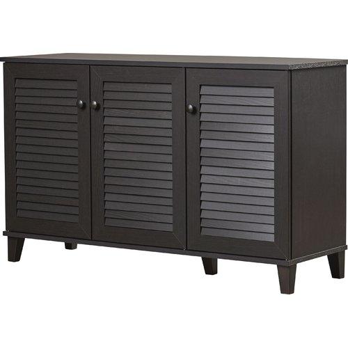 Rebrilliant 25-Pair Shoe Storage Cabinet
