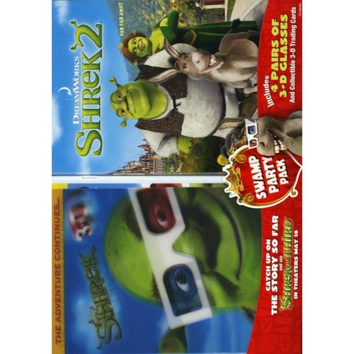 Shrek 2 / Shrek 3-D: Party In The Swamp (Widescreen)