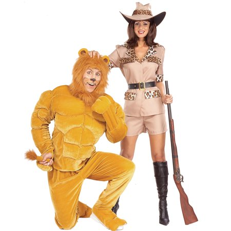Men's Macho Lion Muscle Costume