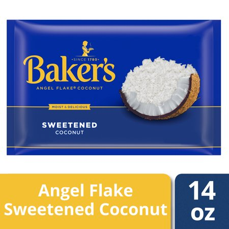 Bakers Coconut ((3 Pack) Baker's Angel Flake Sweetened Coconut, 14 oz Bag)