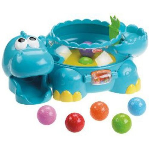 Fisher Price Go Baby Go Poppity Pop Musical Dino by Fisher-Price
