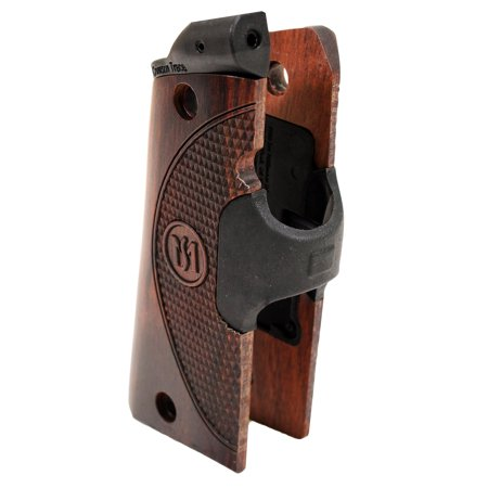 Crimson Trace Master Series Laser Grips 1911, Compact Rosewood, Green Laser