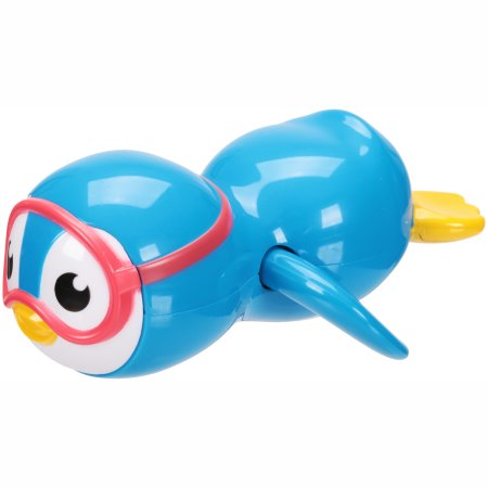 Munchkin Wind Up Swimming Penguin, Blue