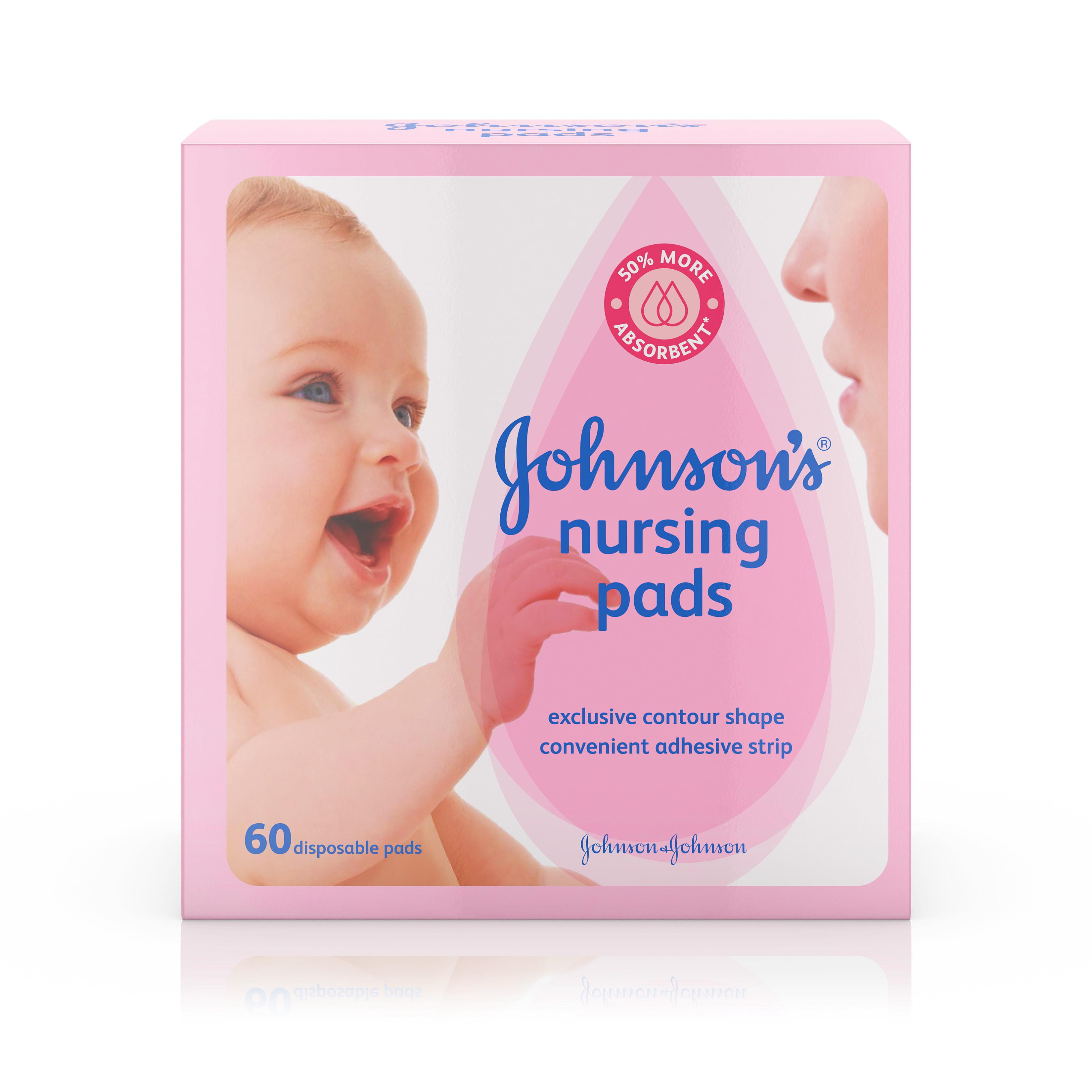 Johnson's Nursing Pads 60 Count by Johnson %26 Johnson
