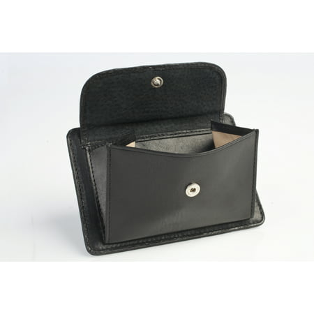 TONY PEROTTI MENS ITALIAN COW LEATHER SLIM FRONT POCKET WEEKEND WALLET WITH COIN (Best Pocket Pistol For Ccw)
