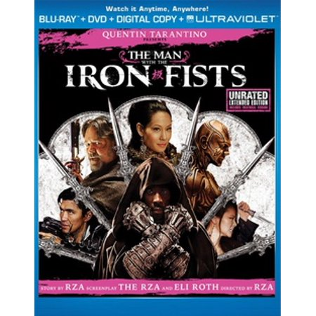 The Man With The Iron Fists (Unrated Extended Edition) (Blu-ray + DVD + Digital Copy +
